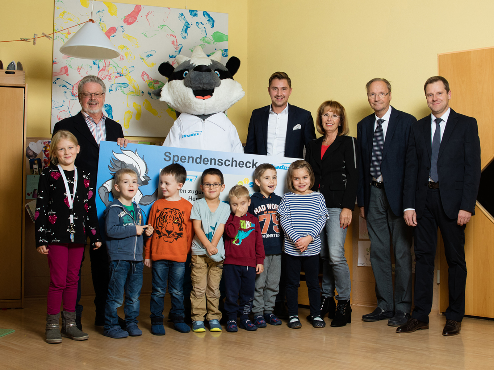 Ultradex im Rehabilitationszentrum für Kinder in Tannheim